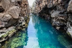 Las Grietas Galapagos buceo superficie