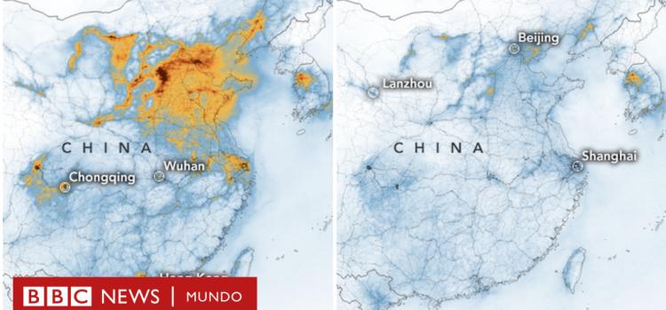 Los cambios ambientales producidos por la cuarentena global
